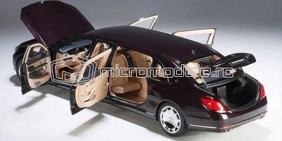 MERCEDES Maybach S 600 Pullman (2016)