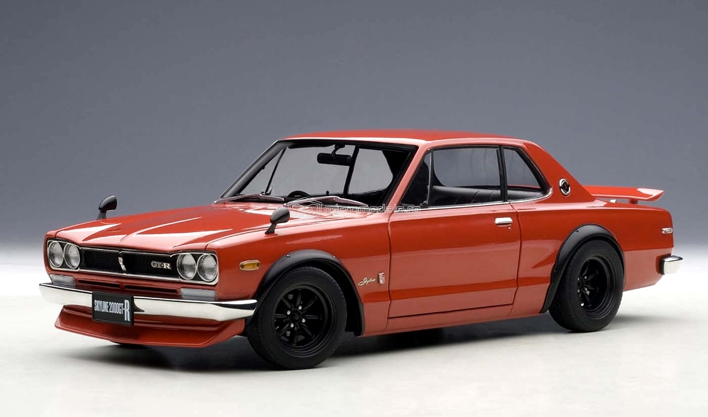 NISSAN Skyline GT-R (KPGC10) Tuned Version (1971)
