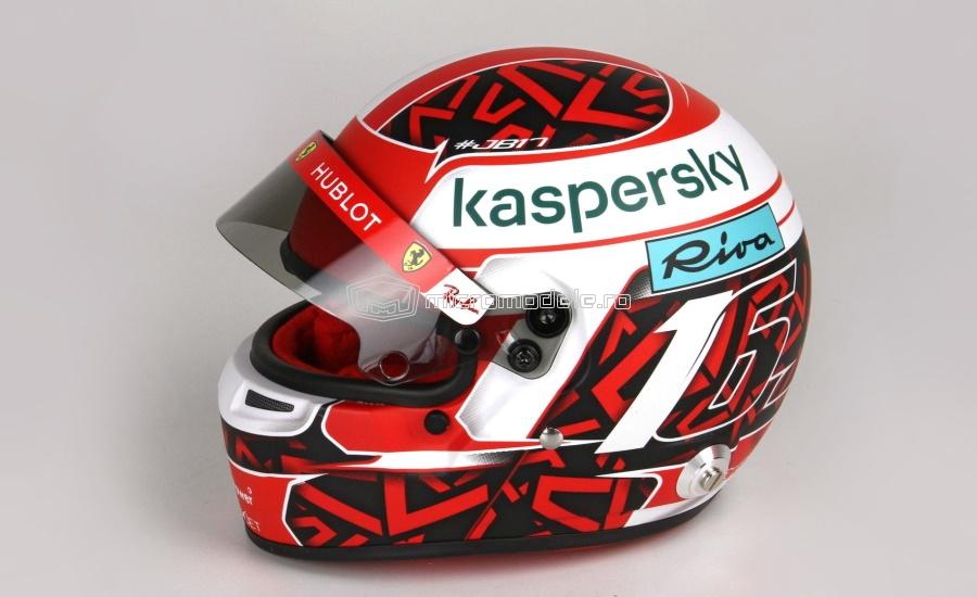 Casca Charles LECLERC sezon F1 (2020)