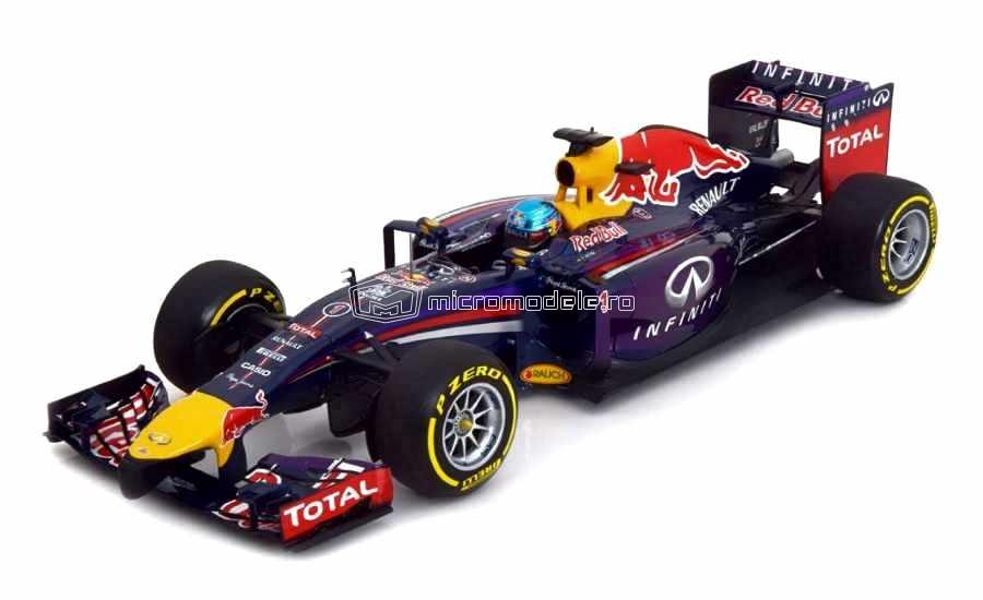 RENAULT F1 RB10 Red Bull Sebastian Vettel (2014)