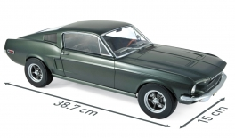 FORD Mustang Fastback (1968)