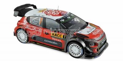CITROEN C3 WRC - Locul 1 Spania (2017)