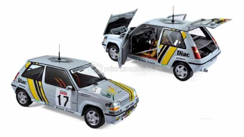 RENAULT Supercinq GT Turbo - Tour de Corse (1989)