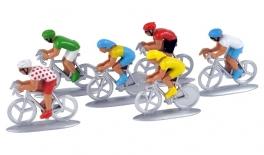 Figurine biciclisti