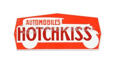 HOTCHKISS placa publicitara