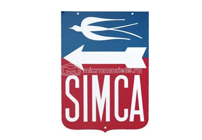SIMCA placa publicitara