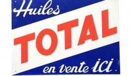 TOTAL placa publicitara