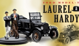 FORD model T (1925) cu figurine Stan si Bran