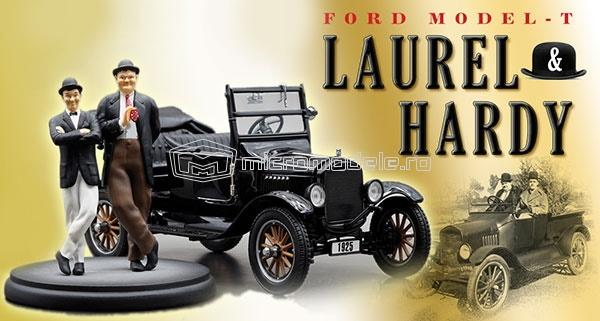 FORD model T (1925) cu figurine Stan si Bran