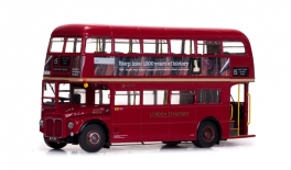 ROUTEMASTER Double Decker London Bus RM324-WLT324 (1960)