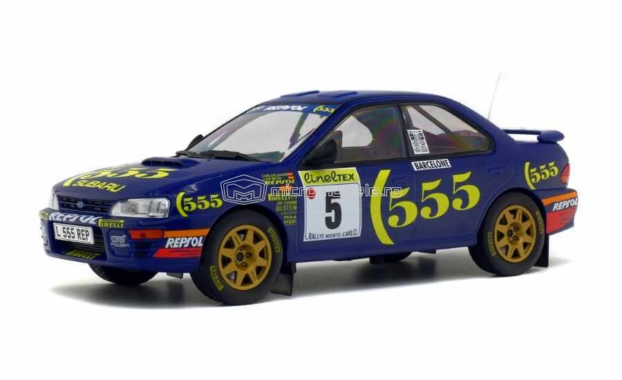 SUBARU Impreza 555 Winner Rally Monte Carlo (1995)  C.SAINZ L.MOYA