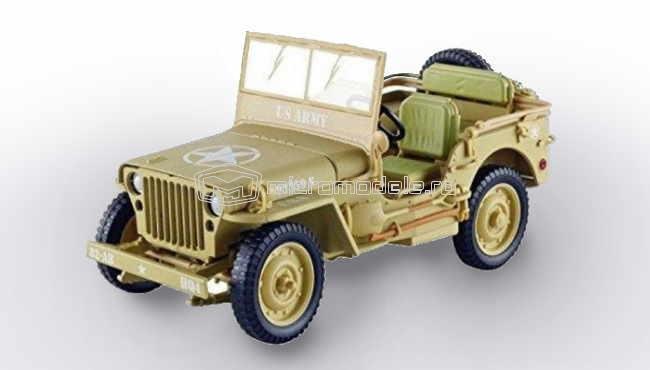 JEEP Willys US Army - Casablanca (1943)